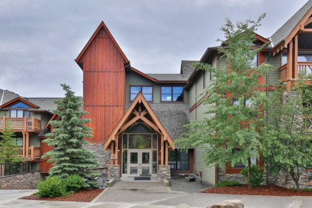 106 Stewart Creek #215, Canmore, AB T1W 0G6 (#C4256740) :: Canmore & Banff