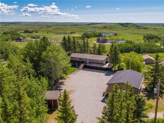 264038 Big Hill Springs Court, Rural Rocky View County, AB T4C 0E5 (#C4256839) :: Redline Real Estate Group Inc