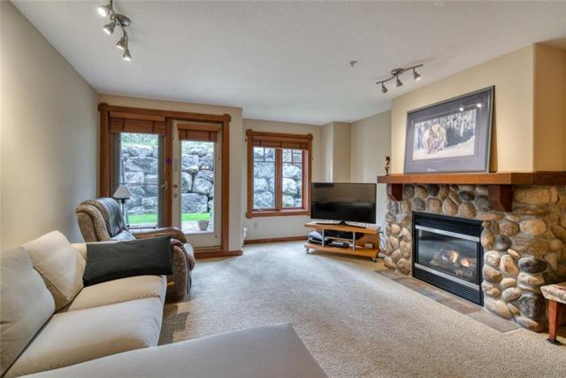 150 Crossbow Place #113, Canmore, AB T1W 3H5 (#C4257029) :: Canmore & Banff