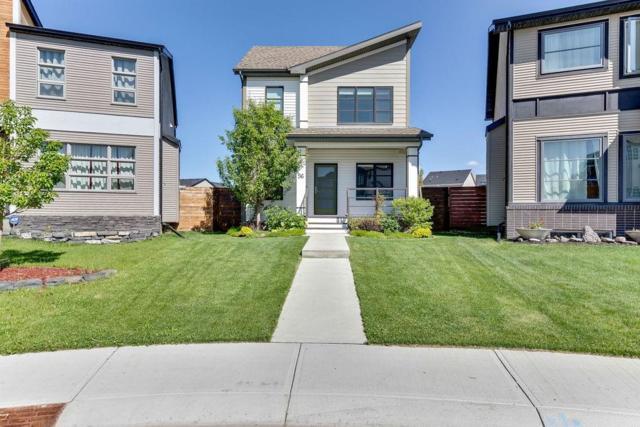 56 Copperpond Parade SE, Calgary, AB T2Z 5A8 (#C4257419) :: Redline Real Estate Group Inc