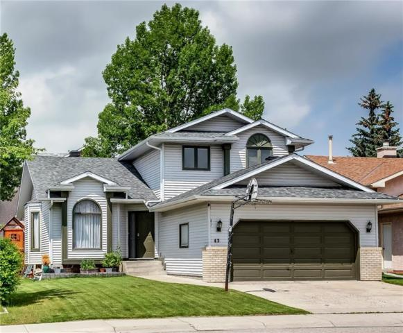 43 Hawkstone Drive NW, Calgary, AB T3G 3E9 (#C4257469) :: Redline Real Estate Group Inc