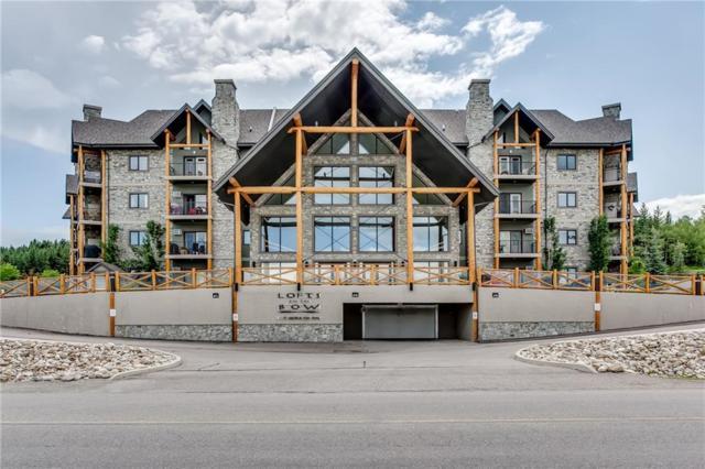 77 George Fox Trail #214, Cochrane, AB T4C 0N1 (#C4257609) :: Calgary Homefinders