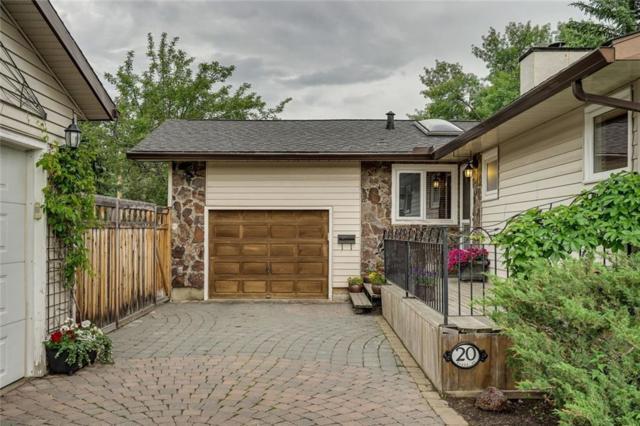 20 Manor Road SW, Calgary, AB T2V 1Z9 (#C4257865) :: Virtu Real Estate
