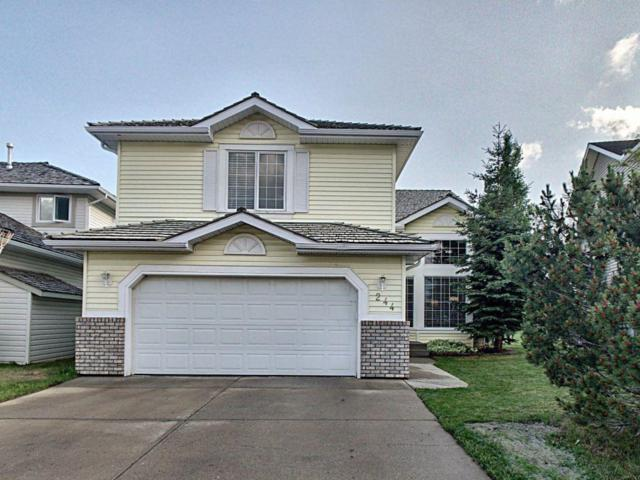 244 Woodside Crescent NW, Airdrie, AB T4B 2G8 (#C4257986) :: Redline Real Estate Group Inc