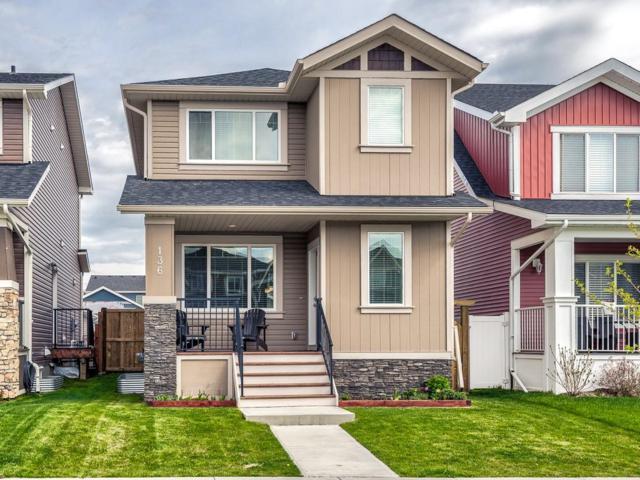 136 Fireside Drive, Cochrane, AB T4C 0V8 (#C4258038) :: Redline Real Estate Group Inc