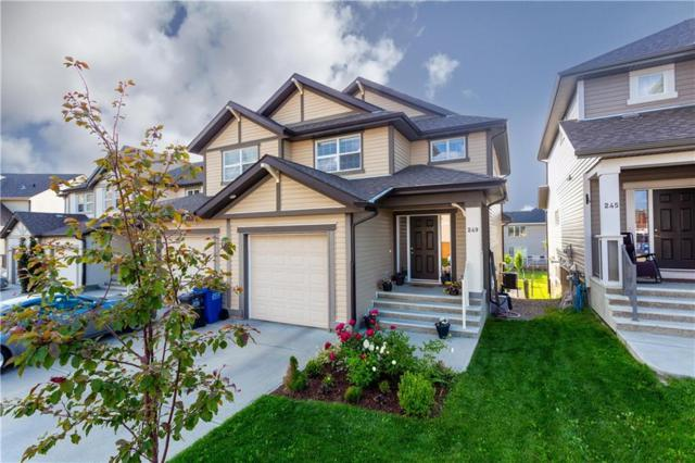 249 Sunset Common, Cochrane, AB T4C 0L8 (#C4258132) :: The Cliff Stevenson Group