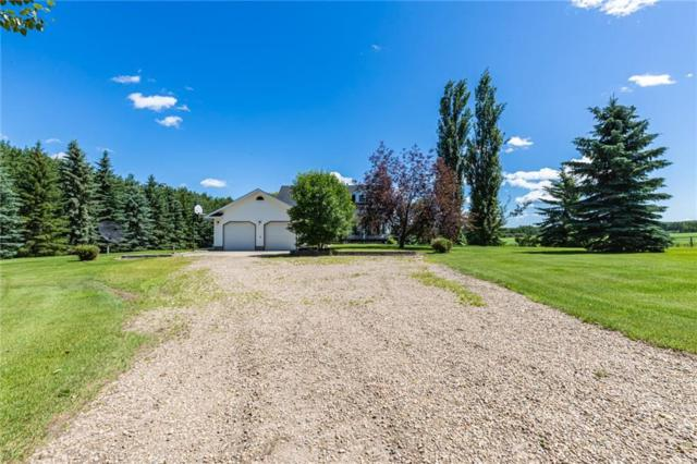 475039 Range Rd 11, Rural Wetaskiwin County, AB T0C 2P0 (#C4258255) :: The Cliff Stevenson Group