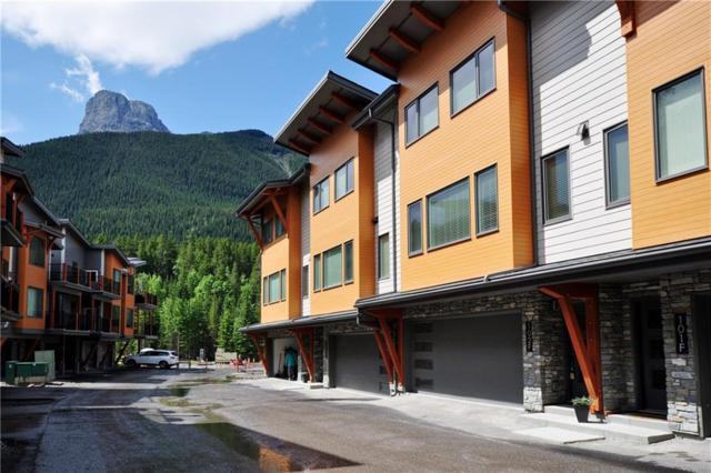 1101 Three Sisters Parkway 102F, Canmore, AB T1W 0L3 (#C4258586) :: Redline Real Estate Group Inc