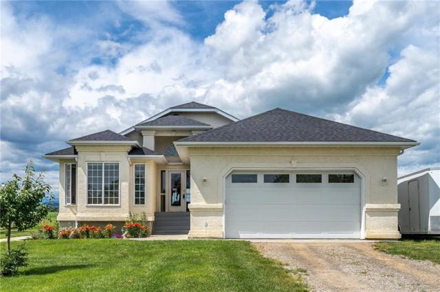 240109 Rge Rd 34, Rural Rocky View County, AB T3Z 2W2 (#C4258588) :: Redline Real Estate Group Inc