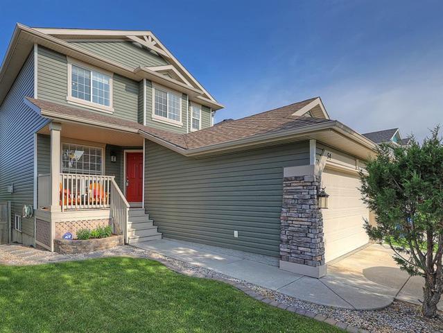 54 Bridlepost Green SW, Calgary, AB T2Y 3X6 (#C4258811) :: Redline Real Estate Group Inc
