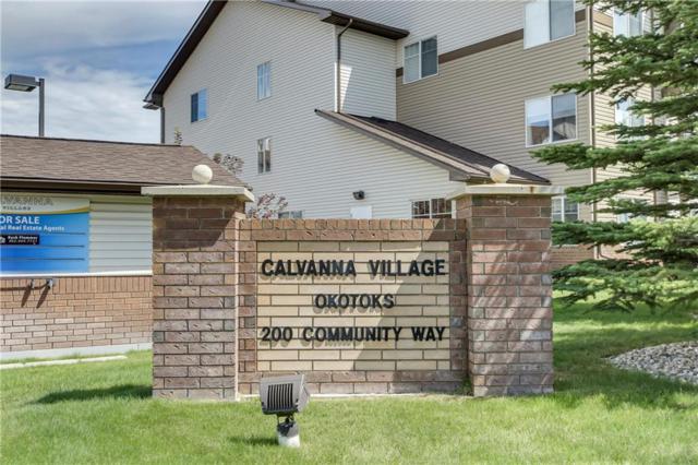 200 Community Way #1315, Okotoks, AB T1S 2L2 (#C4259067) :: Virtu Real Estate