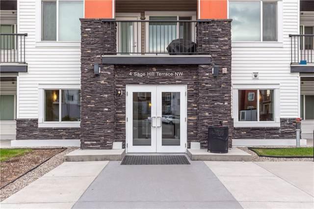 4 Sage Hill Terrace NW #311, Calgary, AB T3R 0W4 (#C4259196) :: The Cliff Stevenson Group