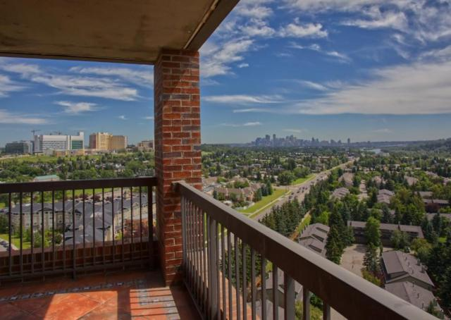 145 Point Drive NW #2007, Calgary, AB T3B 4W1 (#C4259322) :: Redline Real Estate Group Inc