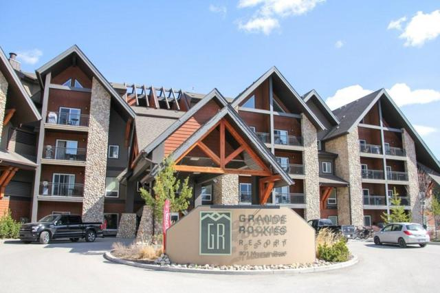 901 Mountain Street #419, Canmore, AB T1W 0C9 (#C4259385) :: The Cliff Stevenson Group