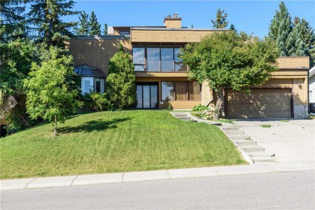 1640 Cayuga Drive NW, Calgary, AB  (#C4262600) :: Calgary Homefinders