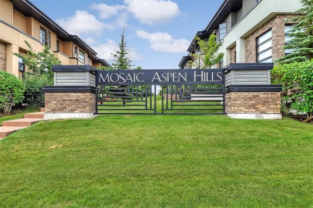108 Aspen Hills Villa(S) SW, Calgary, AB T3H 0H7 (#C4262711) :: The Cliff Stevenson Group