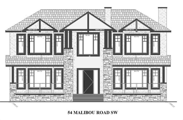 54 Malibou Road SW, Calgary, AB T2V 1W8 (#C4262732) :: Virtu Real Estate