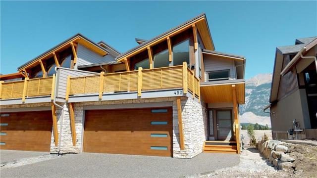 450 Stewart Creek Close, Canmore, AB T1W 0L7 (#C4263267) :: Canmore & Banff