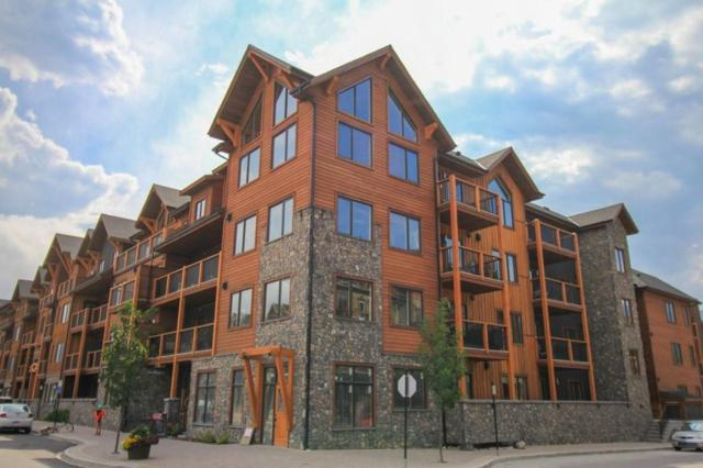 707 Spring Creek Drive #313, Canmore, AB T1W 0K7 (#C4263337) :: Calgary Homefinders