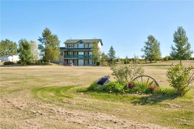 272134 Rge Rd 285, Rural Rocky View County, AB T4B 2A4 (#C4267669) :: The Cliff Stevenson Group