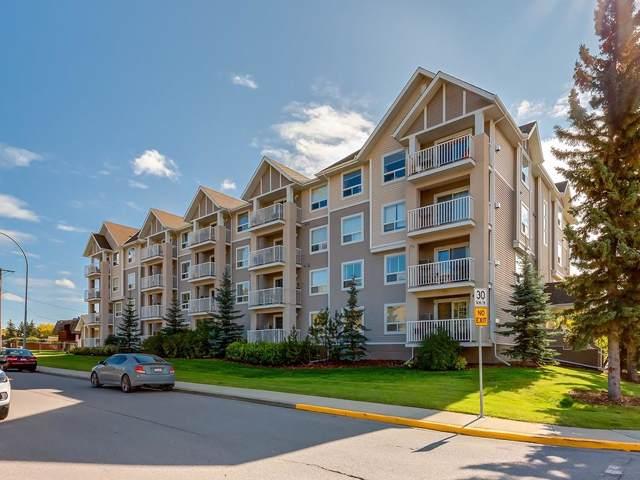 128 Centre Avenue #109, Cochrane, AB T4C 2K5 (#C4268178) :: Redline Real Estate Group Inc