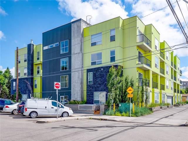 1740 9 Street NW #409, Calgary, AB T2V 1A1 (#C4268240) :: The Cliff Stevenson Group