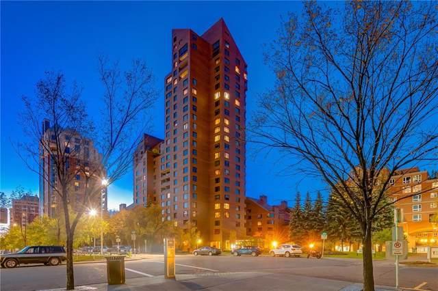 500 Eau Claire Avenue SW 102C, Calgary, AB T2P 3R8 (#C4268502) :: Virtu Real Estate