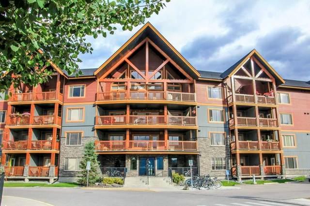 300 Palliser Lane #216, Canmore, AB T1W 0H5 (#C4268507) :: Canmore & Banff