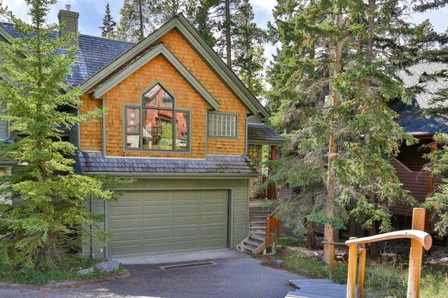 117 Stone Creek Road #4, Canmore, AB T1W 3A6 (#C4268574) :: Virtu Real Estate