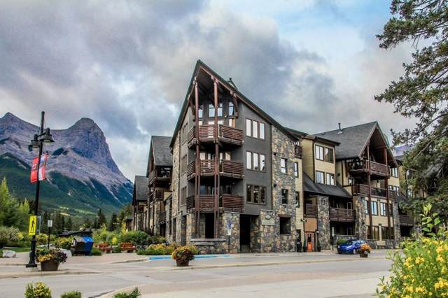 379 Spring Creek Drive #215, Canmore, AB T1W 0G8 (#C4268623) :: Canmore & Banff
