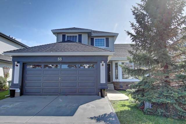 53 Riverview Close, Cochrane, AB T4C 1K7 (#C4269945) :: Redline Real Estate Group Inc