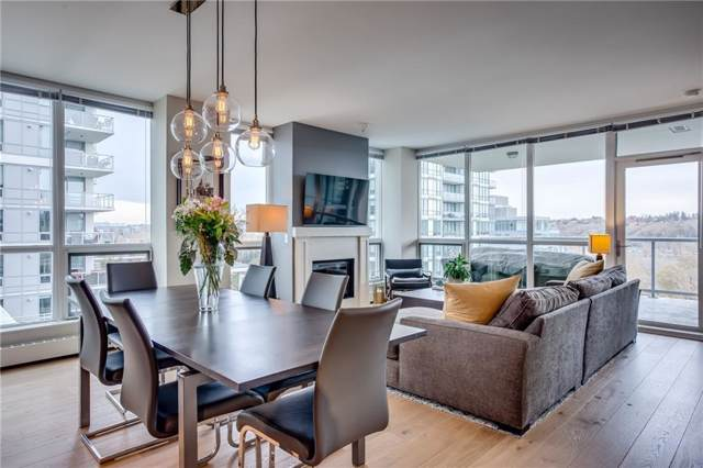 222 Riverfront Avenue SW #911, Calgary, AB T2P 0W3 (#C4269951) :: Western Elite Real Estate Group