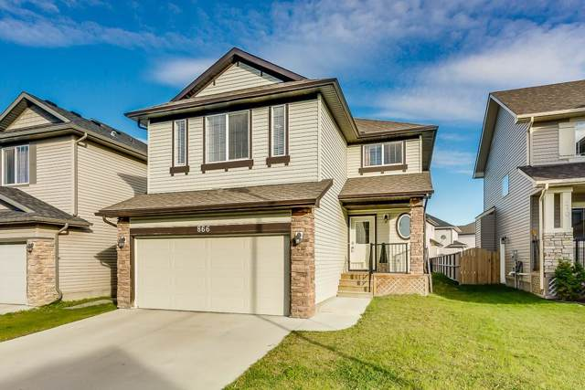 866 Canoe Green SW, Airdrie, AB T4B 3K6 (#C4270064) :: The Cliff Stevenson Group
