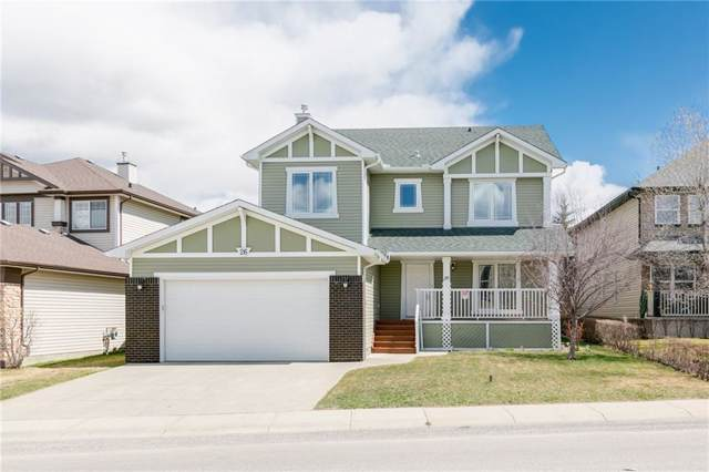 26 Cougarstone Crescent SW, Calgary, AB T3H 4Z3 (#C4270220) :: Redline Real Estate Group Inc