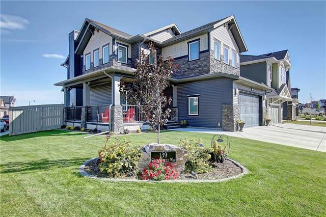 139 Coopersfield Way SW, Airdrie, AB T4B 3Y5 (#C4270341) :: Redline Real Estate Group Inc