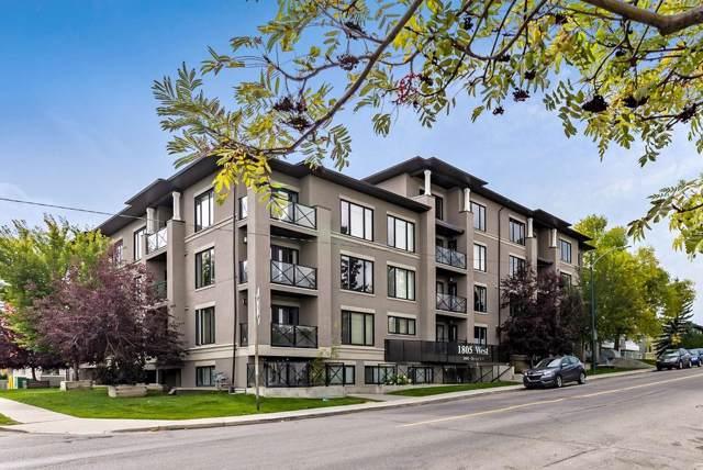 1805 26 Avenue SW #208, Calgary, AB T2T 1E2 (#C4270549) :: Redline Real Estate Group Inc