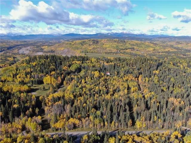PTN Ne 1/4-2-23-5-5 White Avenue, Bragg Creek, AB T0L 0K0 (#C4270660) :: Calgary Homefinders