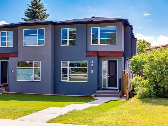 4815 21 Avenue NW, Calgary, AB T3B 0W8 (#C4271038) :: Redline Real Estate Group Inc