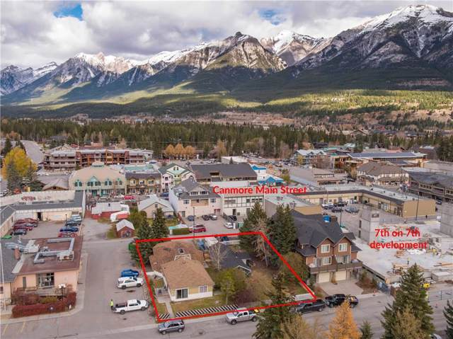 822 7th Street, Canmore, AB T1W 2C8 (#C4271085) :: Canmore & Banff