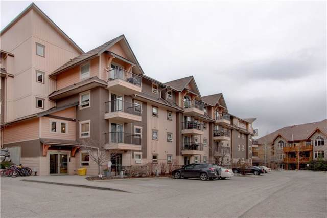 186 Kananaskis Way #406, Canmore, AB T1W 0A2 (#C4271386) :: Calgary Homefinders