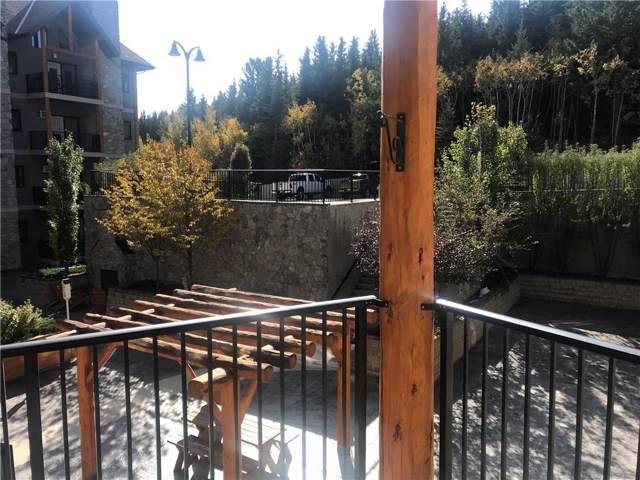 77 George Fox Trail #212, Cochrane, AB T4C 0N1 (#C4271584) :: Redline Real Estate Group Inc