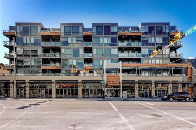 301 10 Street NW #614, Calgary, AB T2N 1V5 (#C4271777) :: The Cliff Stevenson Group