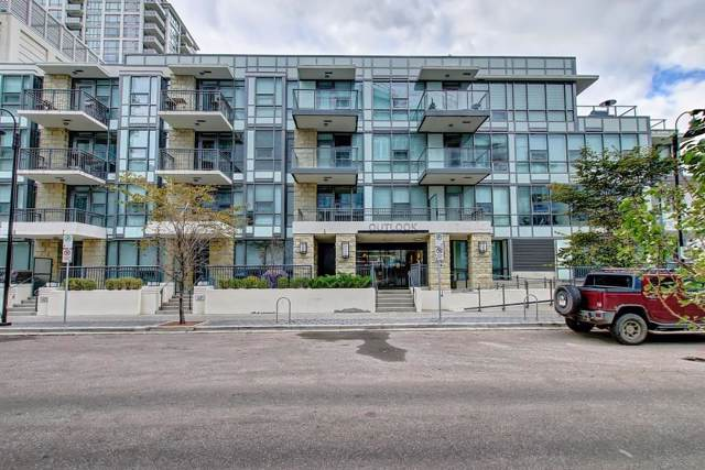 51 Waterfront Mews SW #114, Calgary, AB T2P 0X3 (#C4271778) :: The Cliff Stevenson Group