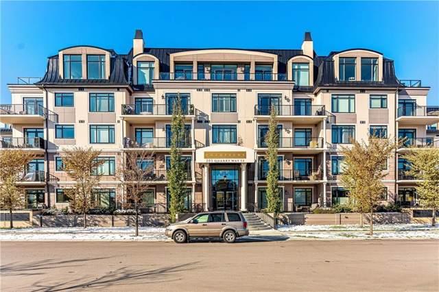 201 Quarry Way SE #404, Calgary, AB T2C 5M5 (#C4272055) :: Redline Real Estate Group Inc