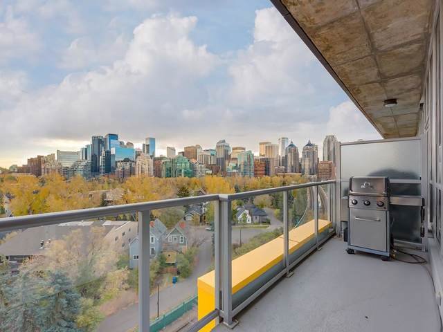235 9A Street NW #804, Calgary, AB T2N 4H7 (#C4272206) :: The Cliff Stevenson Group