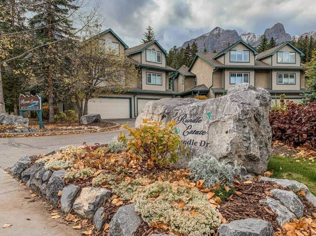 164 Rundle Drive #6, Canmore, AB T1W 2L7 (#C4272271) :: Redline Real Estate Group Inc