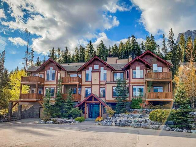 803 Wilson Way #205, Canmore, AB T1W 0E8 (#C4272274) :: Calgary Homefinders
