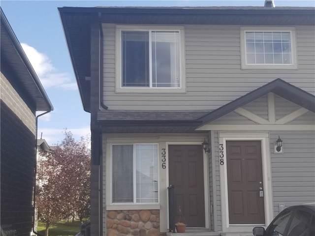 336 Saddlebrook Point(E) NE, Calgary, AB T3J 0G5 (#C4272282) :: Redline Real Estate Group Inc