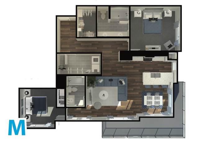 370 Harvest Hills Common NE #403, Calgary, AB T3K 2N1 (#C4272311) :: Redline Real Estate Group Inc