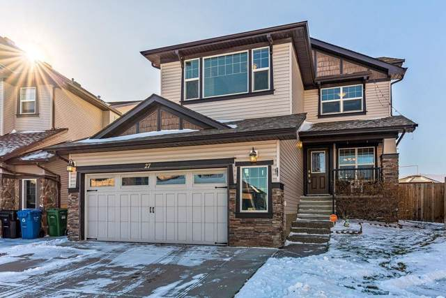 27 Sage Valley Court NW, Calgary, AB T3R 0E8 (#C4272677) :: The Cliff Stevenson Group